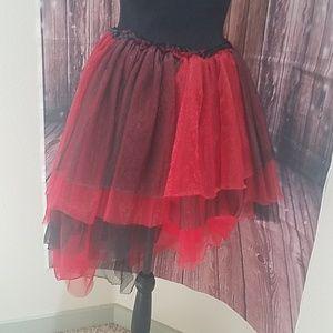 Fun high-low  skirt